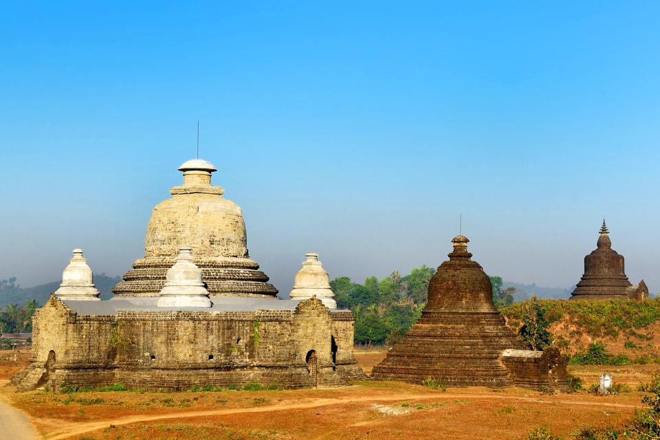 Mrauk-Oo, ancienne capitale de l'Arakan , Birmanie