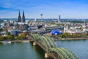 La cathédrale de Cologne , Allemagne