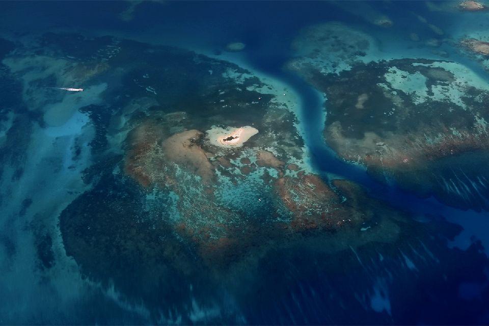 Ilet Caret , Les îles de Guadeloupe