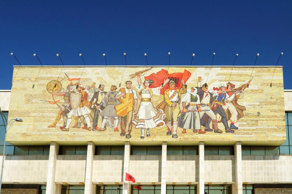 Der sozialistische Realismus , Albanien