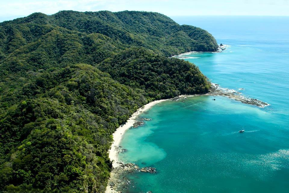 Il litorale caraibico , La Costa dei Caraibi , Costa Rica