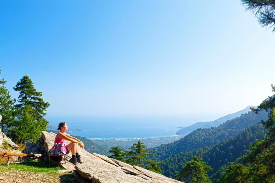 La randonnée , Grèce