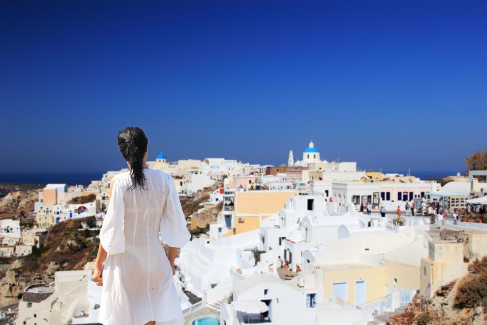 Le farniente , Grèce