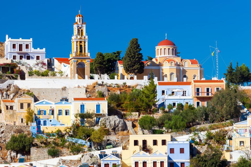 L'île de Symi , Grèce