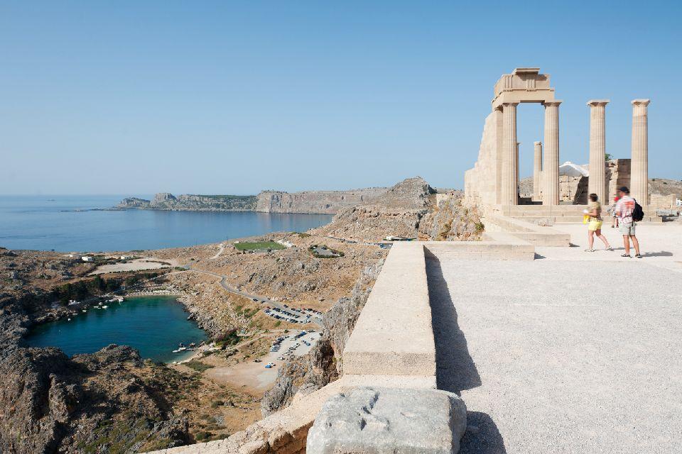 La ville médiévale de Rhodes , Une situation stratégique , Grèce
