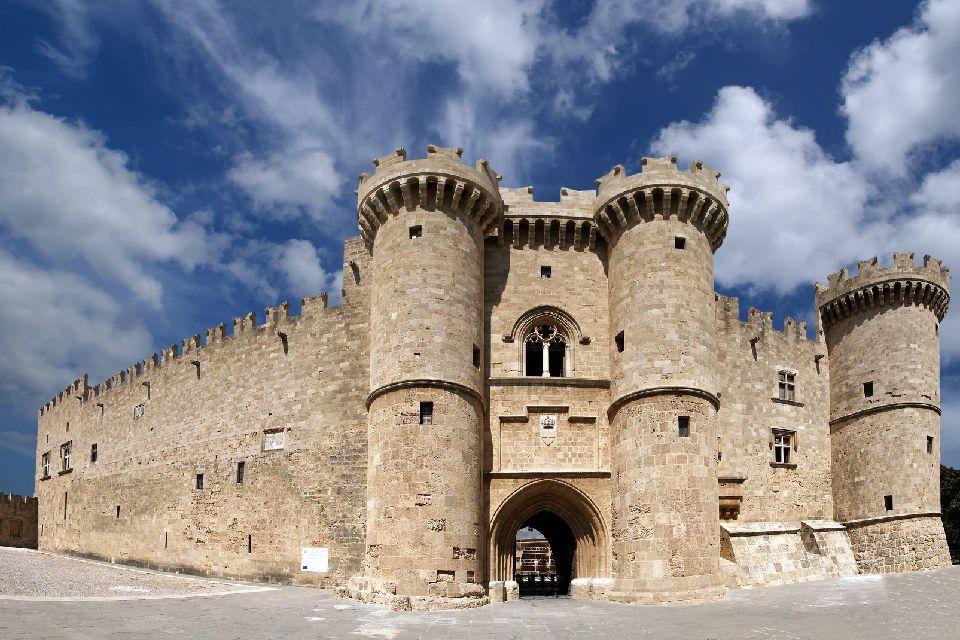 La ville médiévale de Rhodes , Les monuments de Rhodes , Grèce