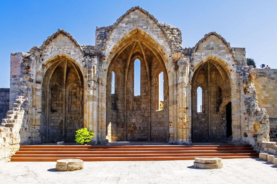 La ville médiévale de Rhodes , L'emplacement de la ville , Grèce