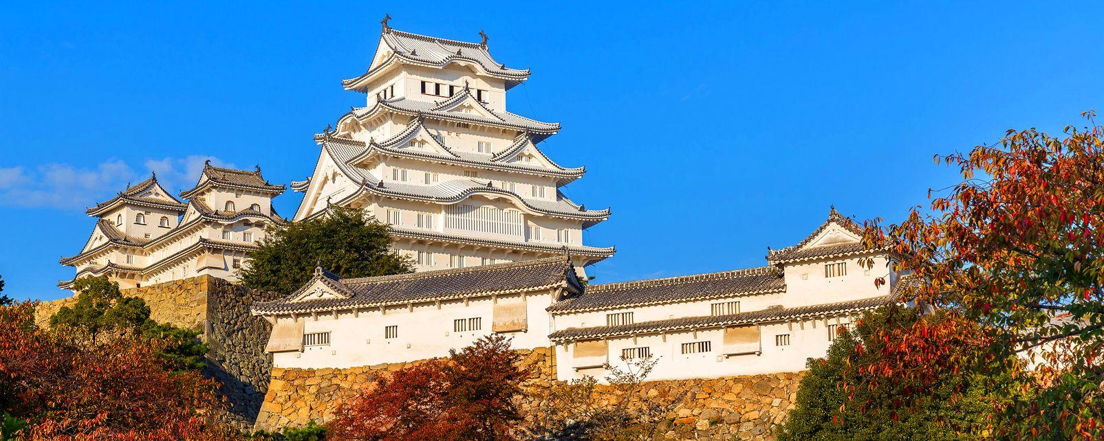Le château de Himeji , Japon