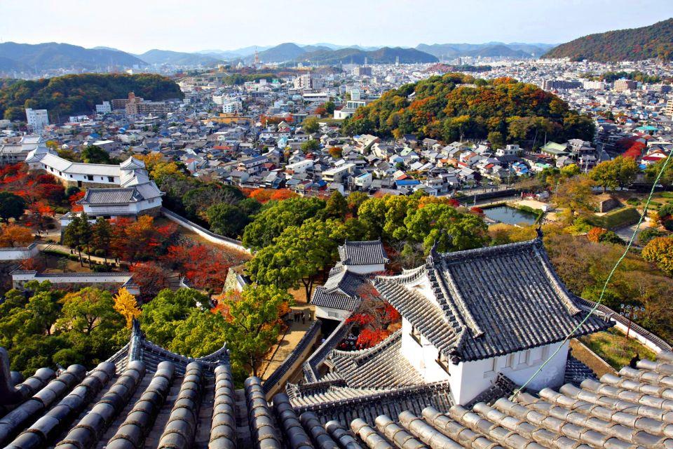 Le château de Himeji , Un château aux allures de temple monastère , Japon