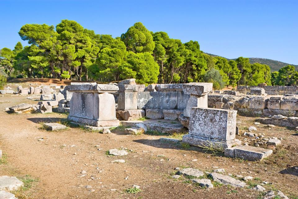 Le sanctuaire d'Asclépios , Grèce