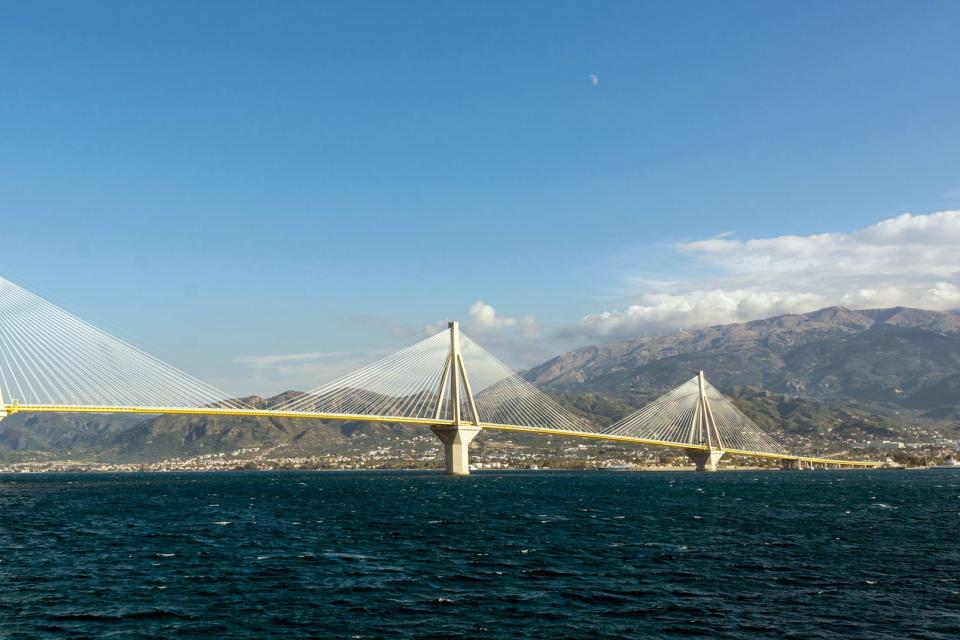 Le golfe de Corinthe , Grèce