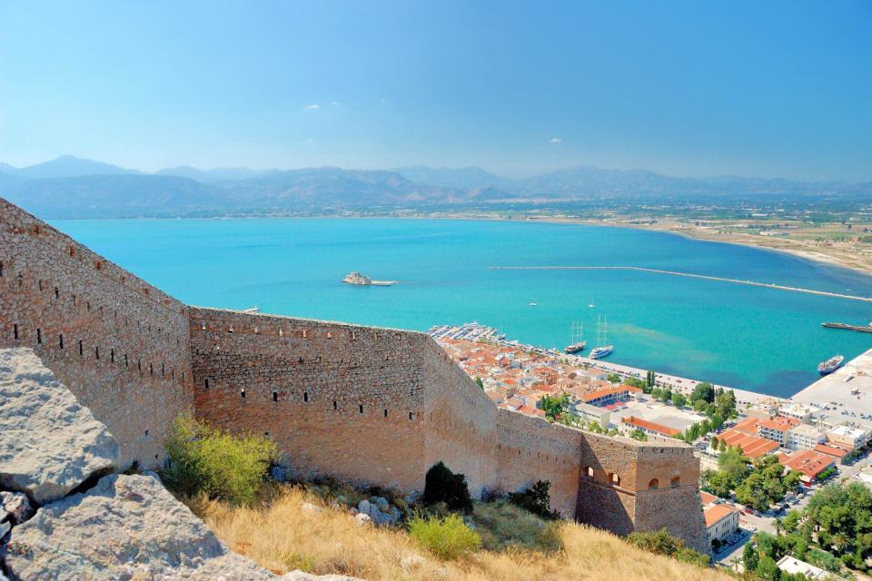La presqu'île d'Argolide , Grèce