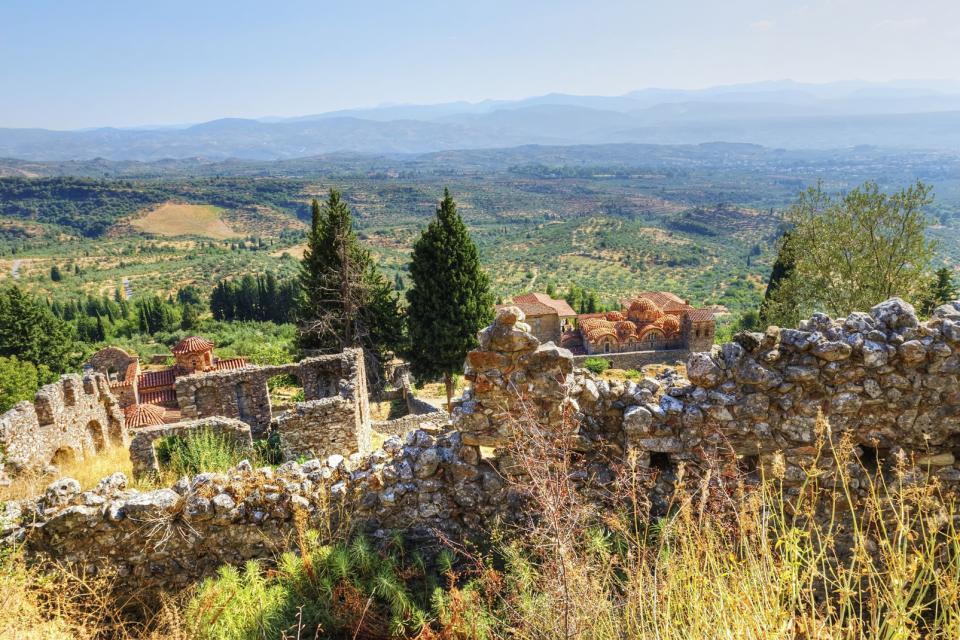 Le mont Taygète , Grèce