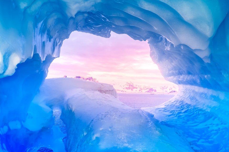 Les paysages, Kamchatka, Russie, grotte, spéléologie