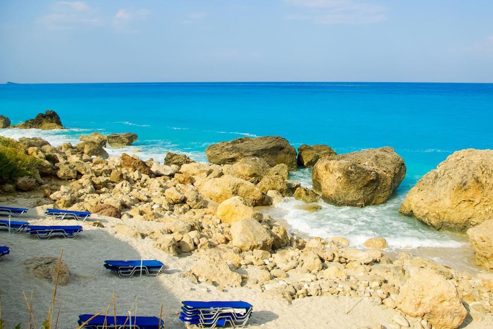 L'île de Leucade , Grèce