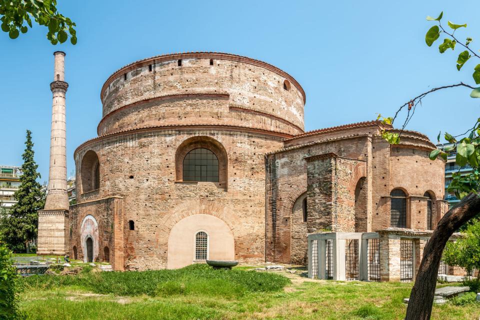 Les monuments religieux de Thessalonique , Grèce