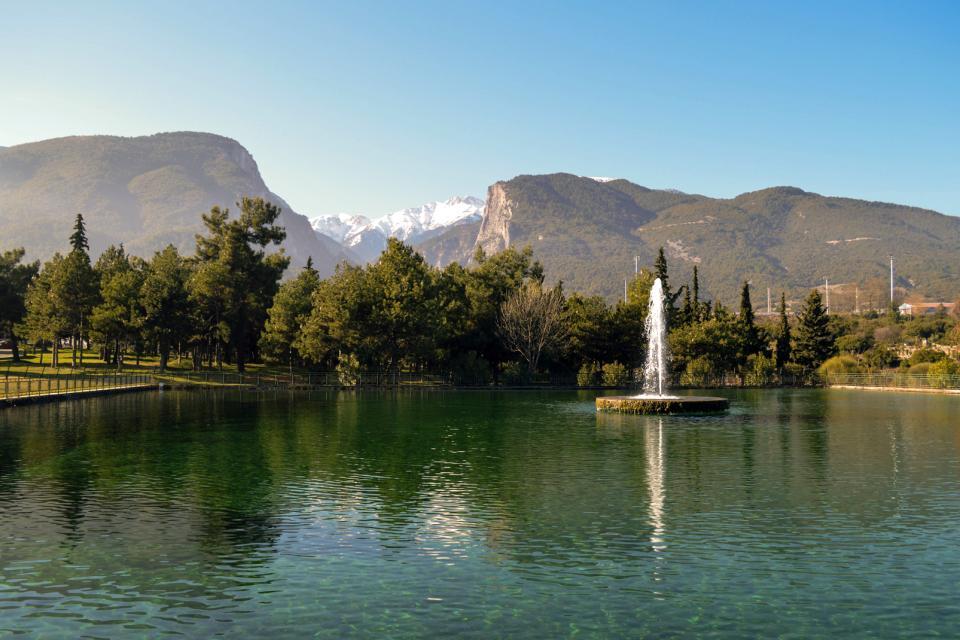 Le Mont Olympe , Grèce