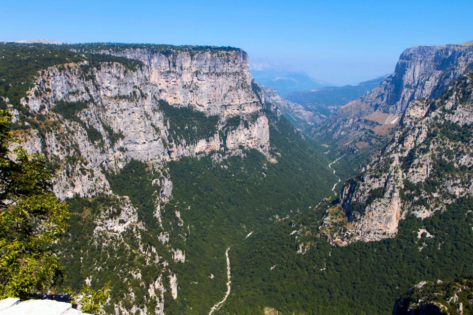 Les gorges de Vikos , Grèce