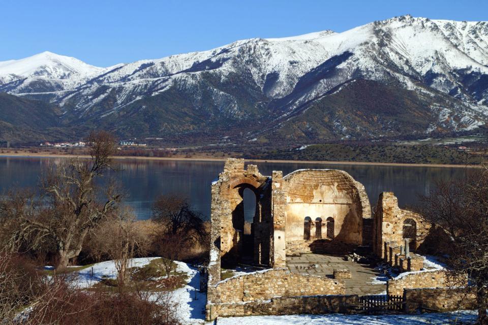 Les lacs de Macédoine , Grèce