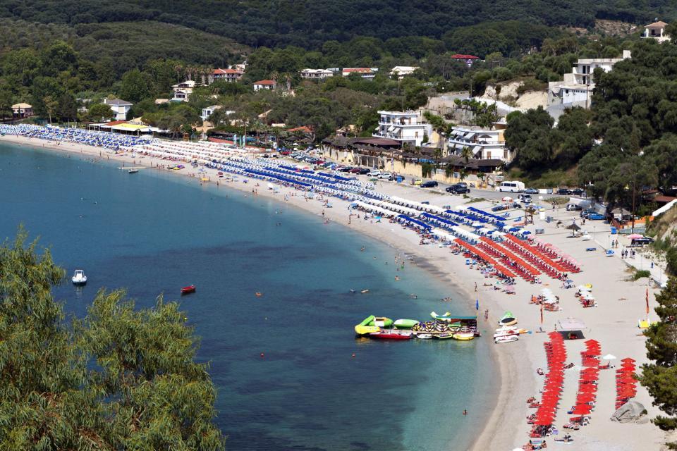 Les plages de Parga , Grèce