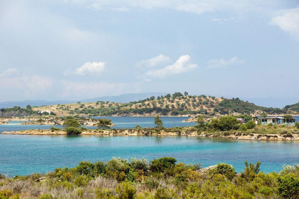 La péninsule du Chalcidique , Grèce
