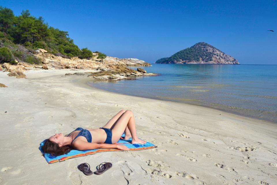 L'île de Thasos , Grèce