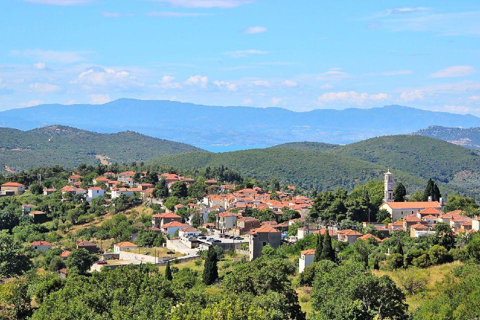 Le mont Pélion , Grèce