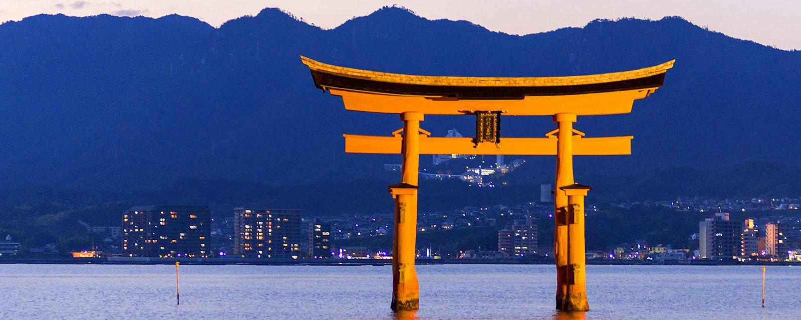 Sanctuaire shinto d'Itsukushima , Japon