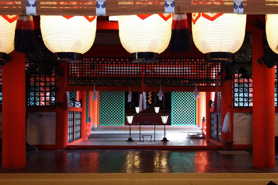 Sanctuaire shinto d'Itsukushima , Un lieu sacré , Japon