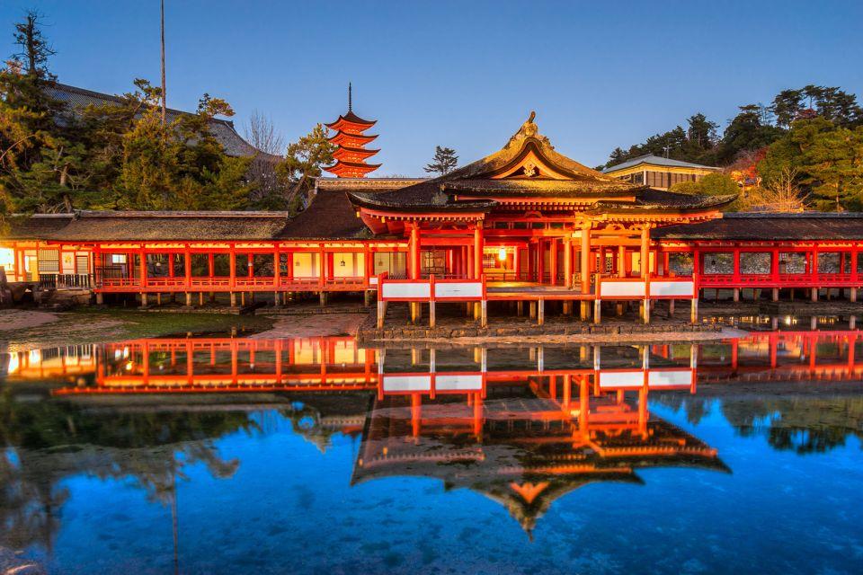 Sanctuaire shinto d'Itsukushima , Un lieu saint du shintoïsme , Japon