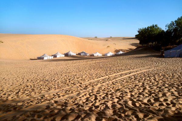 Les paysages, lompoul, désert, afrique, sénégal