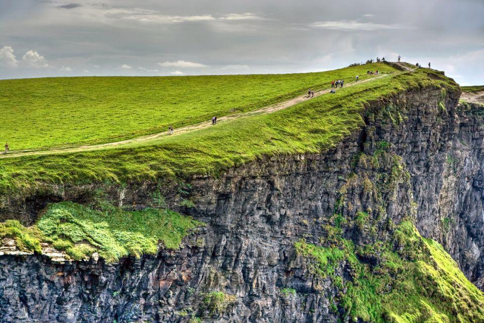 Un site très touristique, Les Falaises de Moher, Les côtes, Dublin, Irlande