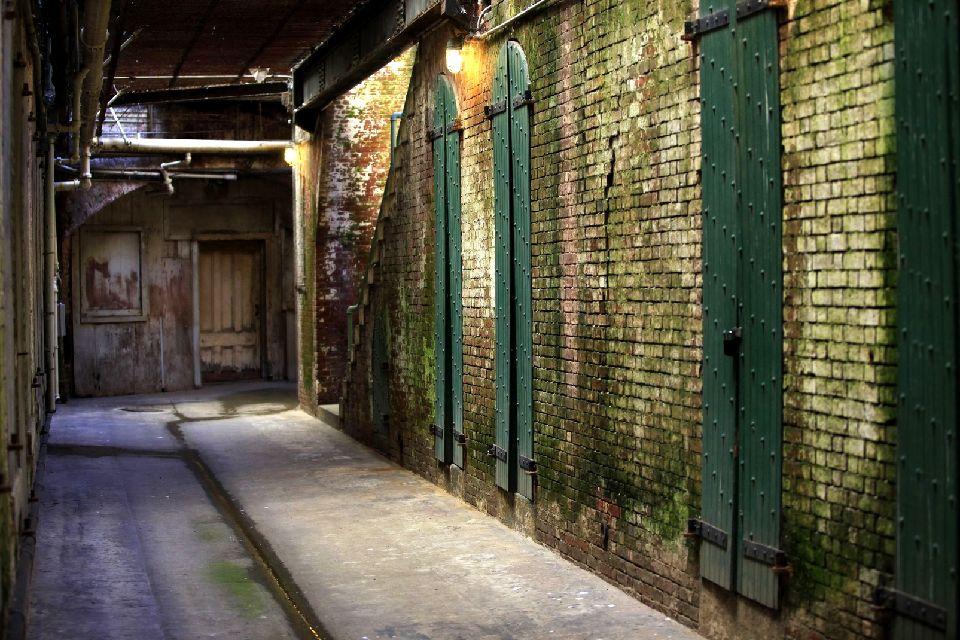 La prison d'Alcatraz , Une atmosphère lugubre , Etats-Unis
