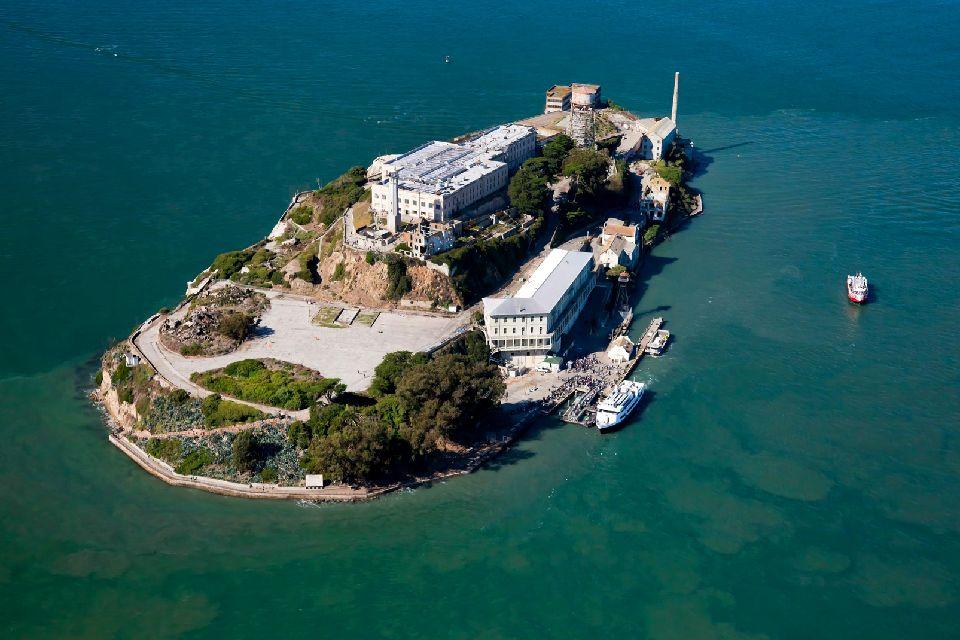 La prison d'Alcatraz , Impossible de s'évader , Etats-Unis
