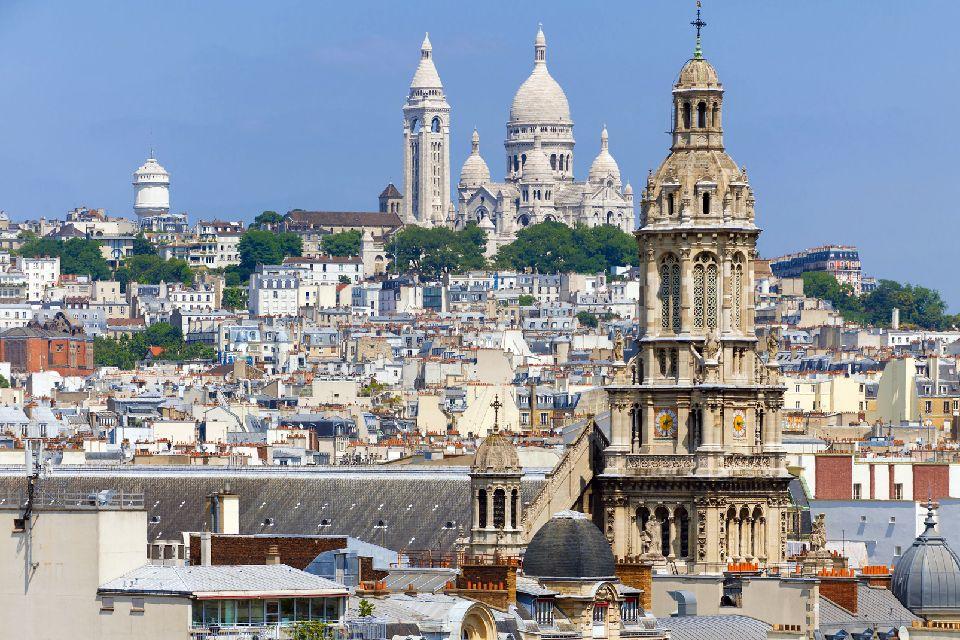 Le Sacré-Coeur , Un phare dans la ville , France