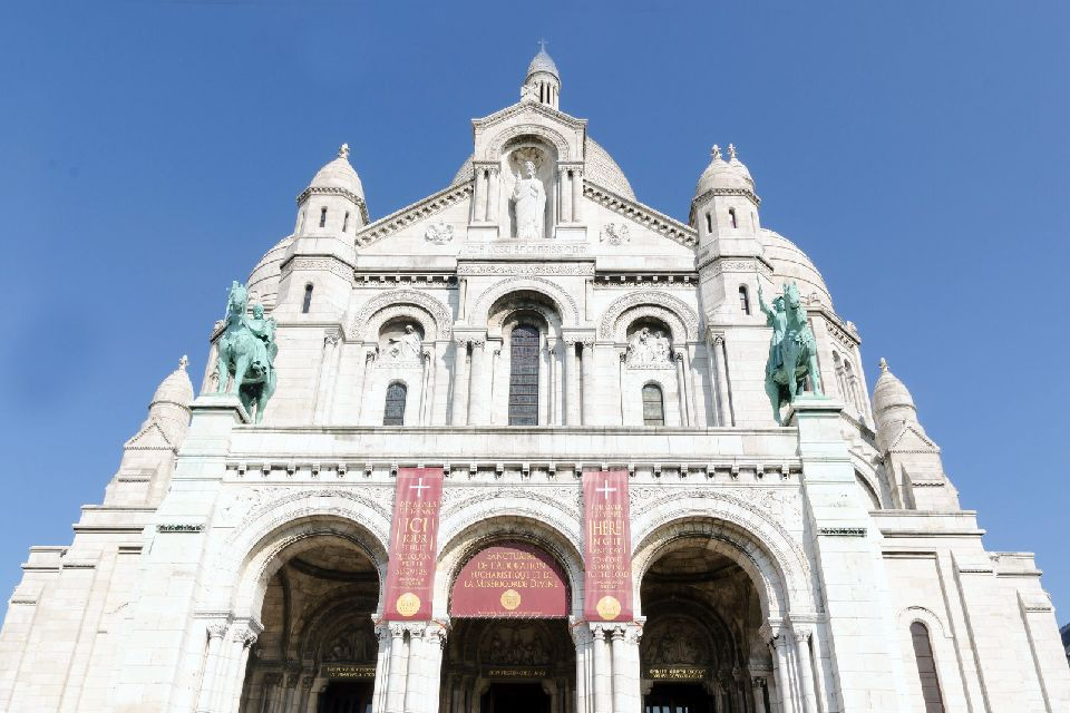 Le Sacré-Coeur , La façade , France