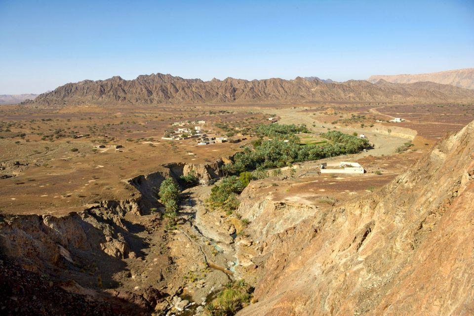 Systèmes d'irrigation aflaj, Les paysages, Mascate, Sultanat d'Oman