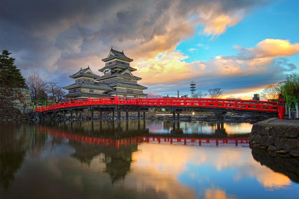 Chateau de Matsumoto , Le corbeau noir , Japon