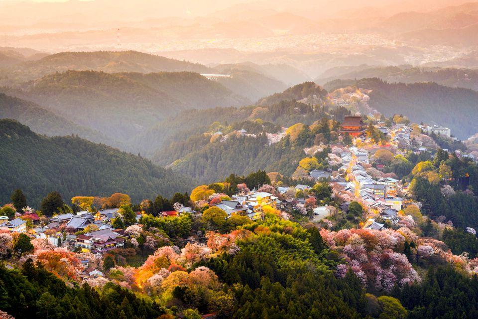 Le Mont Yoshino , La Montagne Kii , Japon
