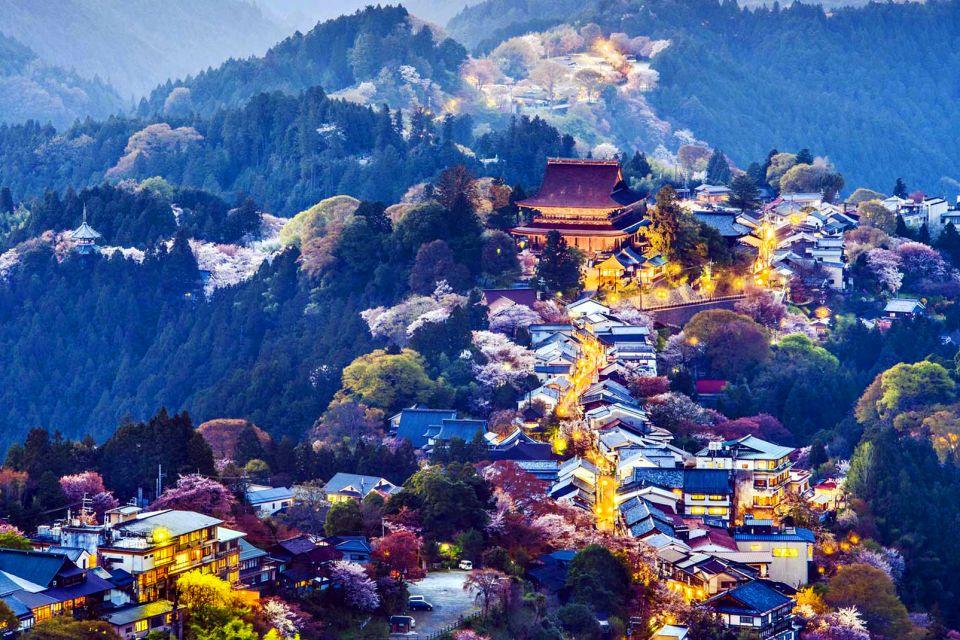 Le Mont Yoshino , Un site sacré , Japon