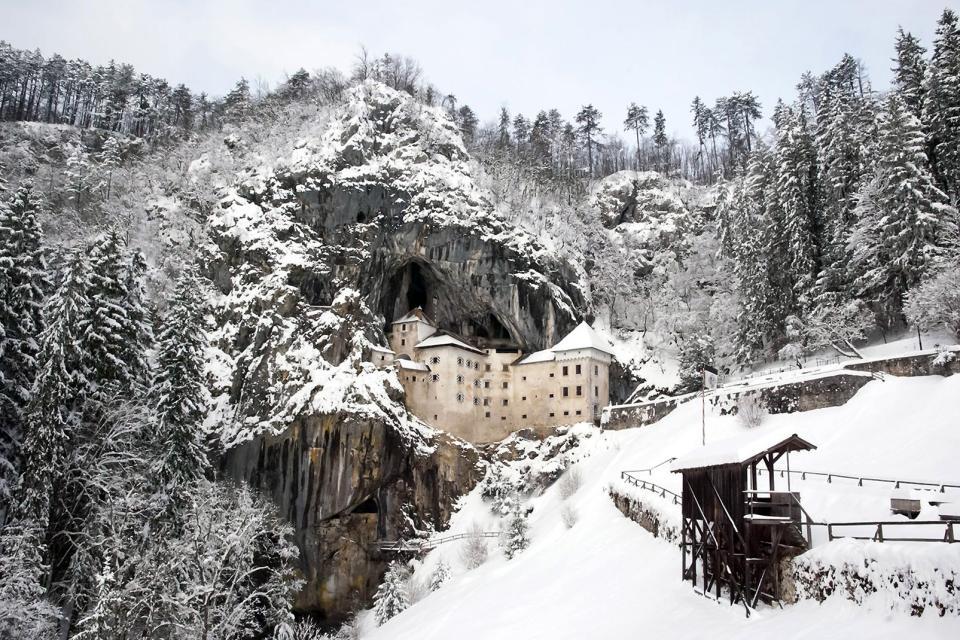 Le château de Predjama , Slovénie