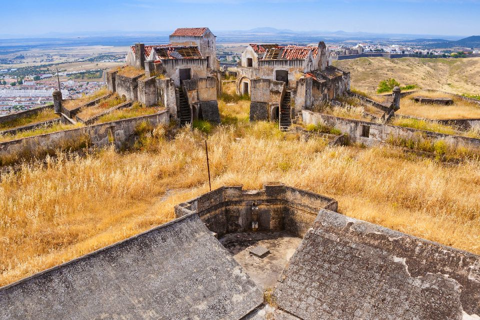Les fortifications d'Elvas , Portugal