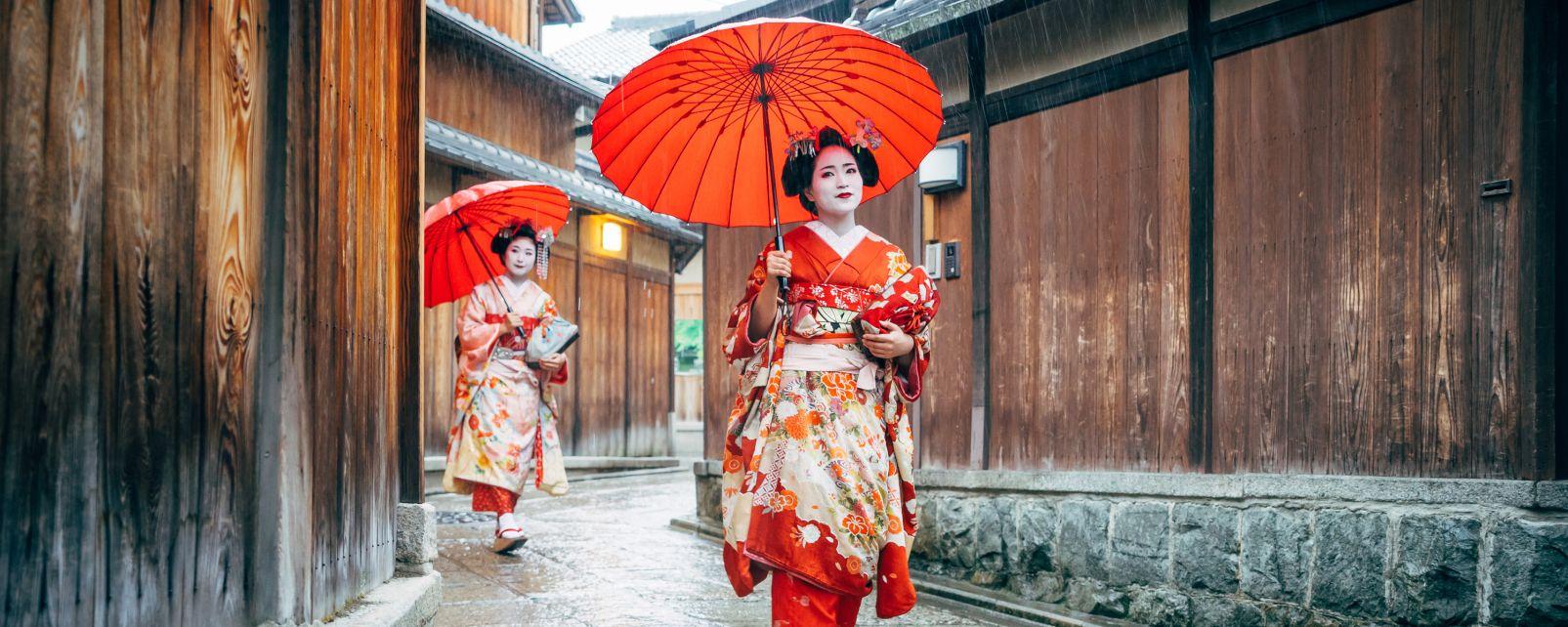 kyoto quartier des geishas gion japon
