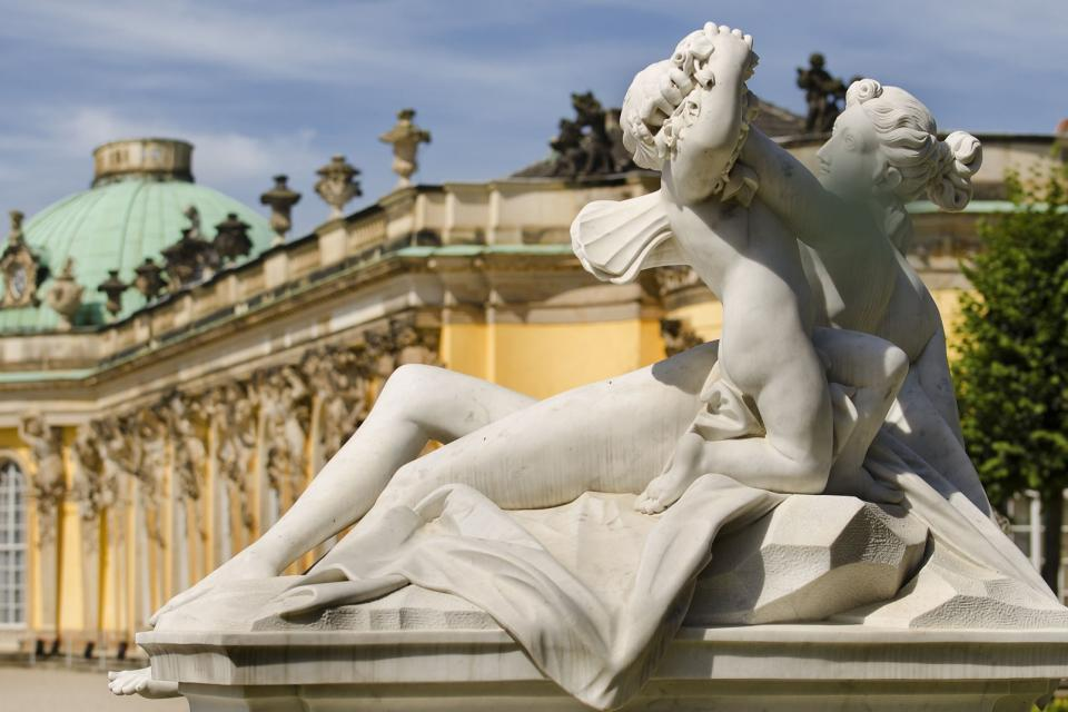 Le Palais de Sanssouci , Allemagne