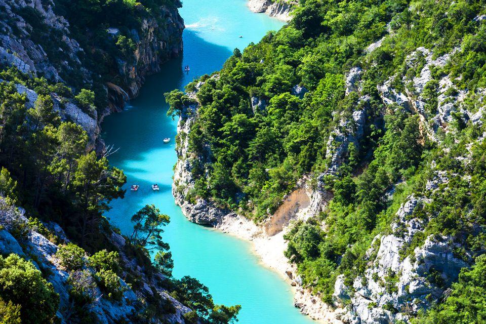 Au fil de l'eau, Les Gorges du Verdon, La faune et la flore, Frejus, Provence Alpes Côte d'Azur