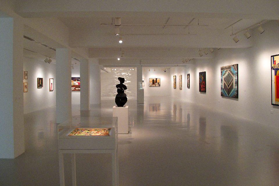 Le Mathaf, musée d'art moderne et contemporain de Doha , Qatar
