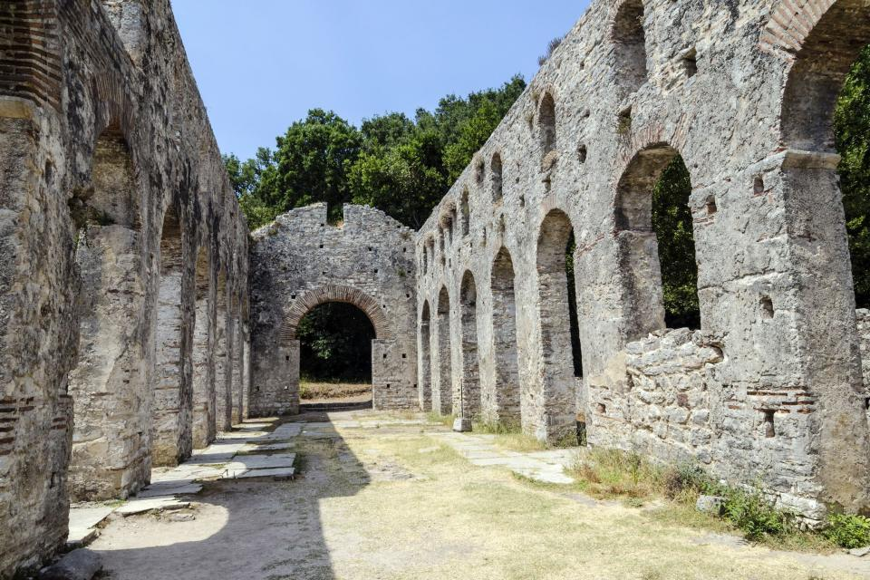 Le site antique de Butrint , Albanie