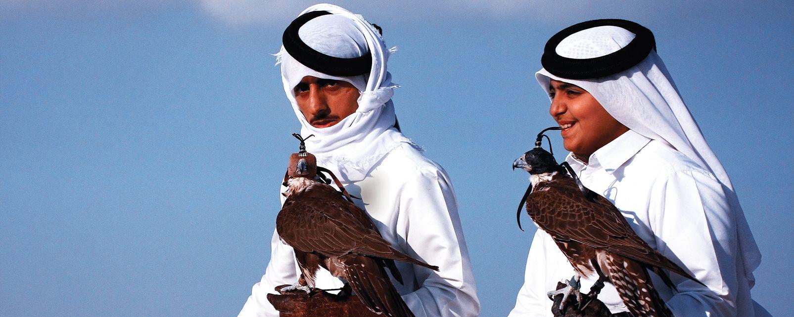 Les tenues traditionnelles qataries , Qatar