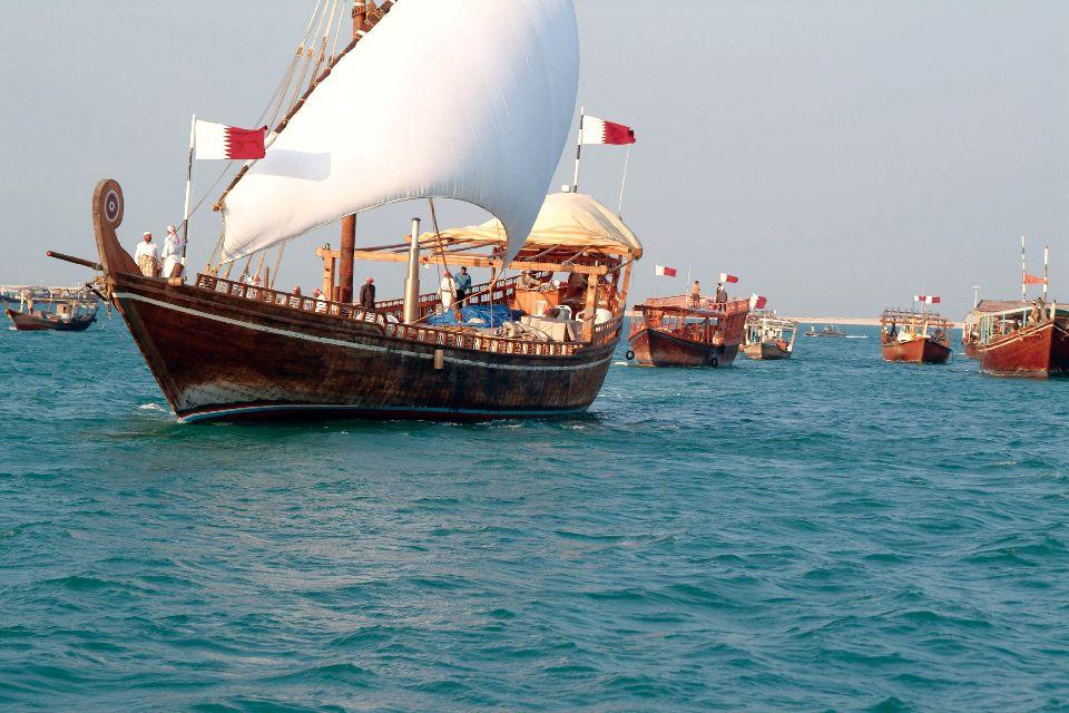 Une croisière en dhow , Qatar