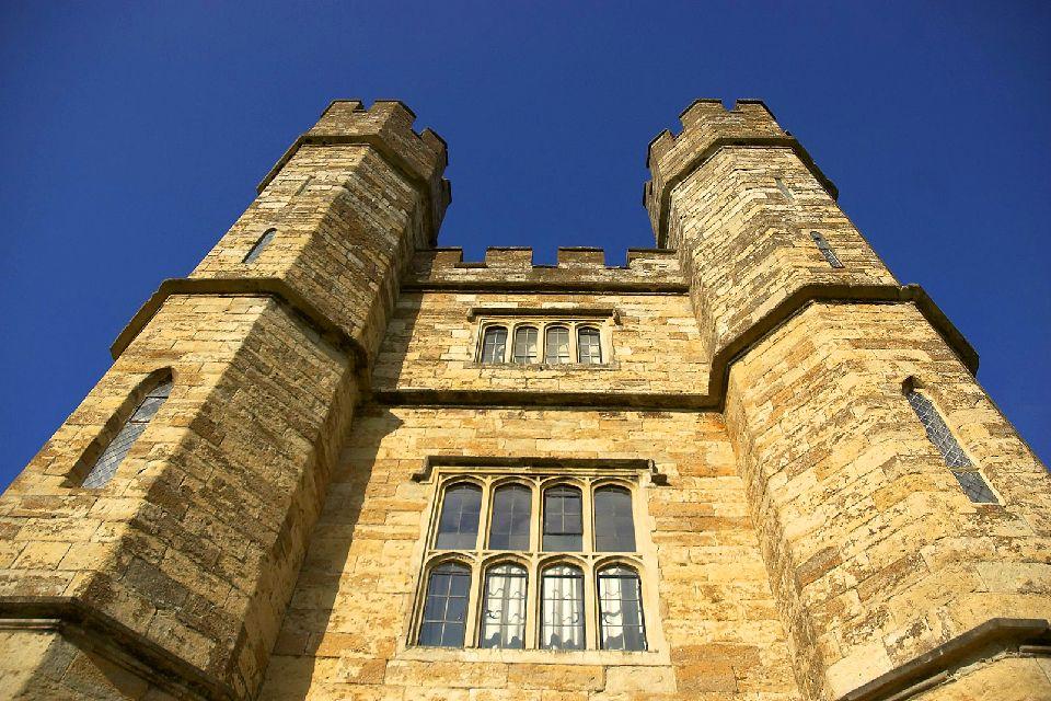 Le Château de Leeds , Façade du château , Royaume-Uni